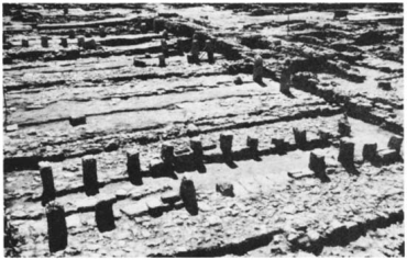 Ruins of Solomons stables at Megiddo